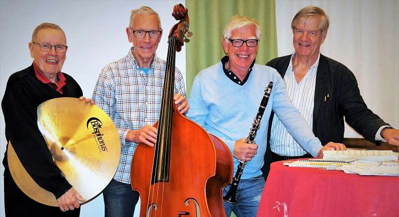 Stig-Allans swing quartet